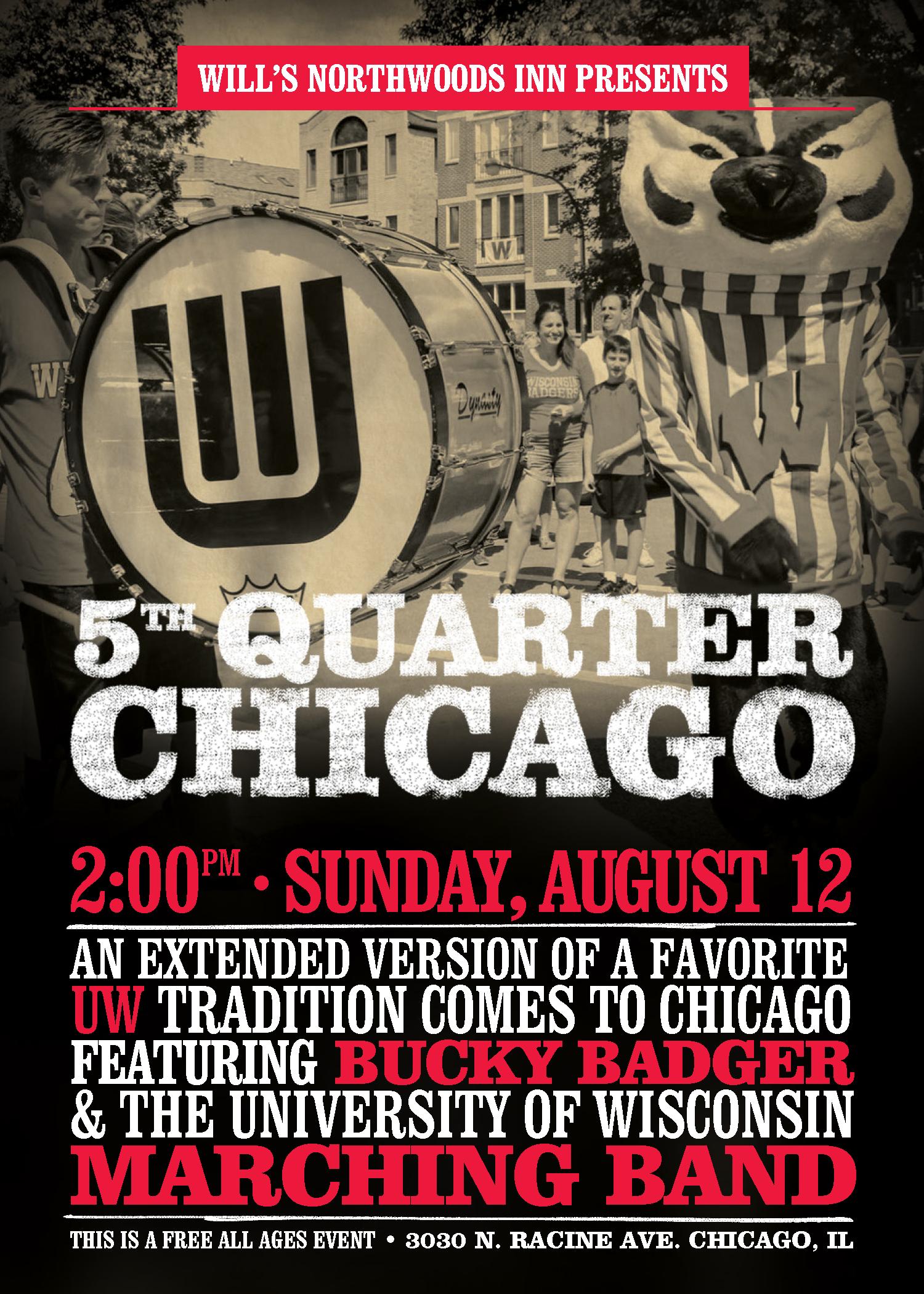 5th Quarter Chicago Wills Northwoods Inn